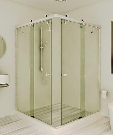 Box de Banheiro de Canto Quanto Custa em Anália Franco - Empresa de Box de Banheiro