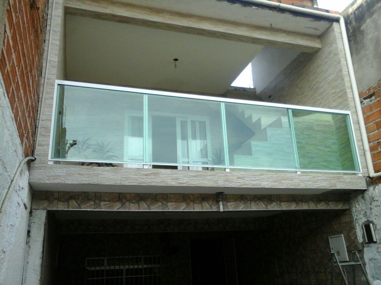 Como Funciona Guarda Corpo de Vidro e Alumínio na Vila Prudente - Guarda Corpo de Vidro e Alumínio