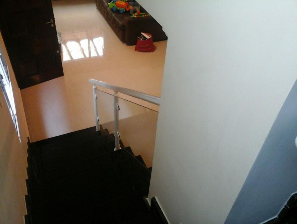 Corrimão de Escada Alumínio e Vidro Preço na Vila Gustavo - Corrimão de Escada Alumínio e Vidro