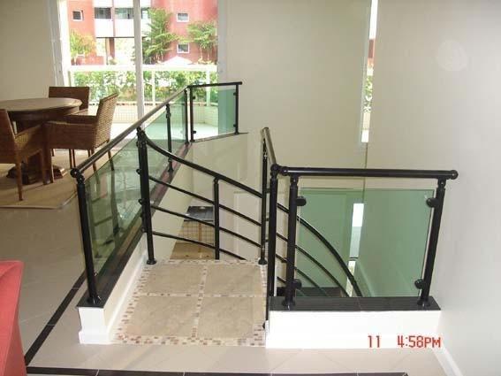 Corrimão de Escada Alumínio e Vidro Qual o Preço em Guarulhos - Corrimão de Escada Alumínio e Vidro