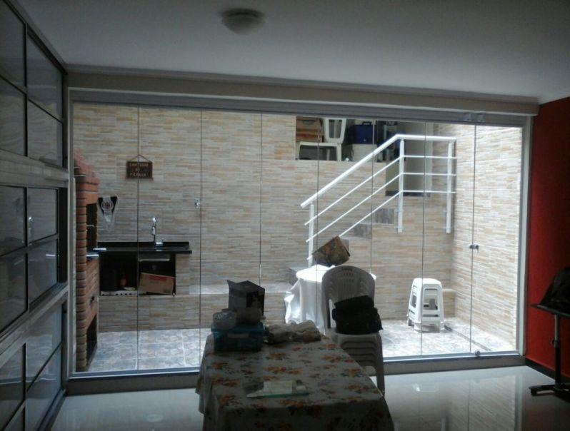 Empresa de Fazer Envidraçamento de Sacadas na Anália Franco - Envidraçamento de Sacadas SP Preço