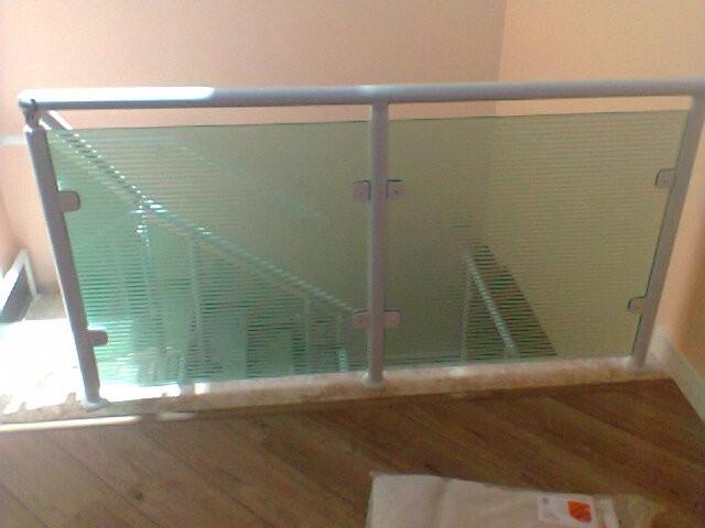 Empresa para Fazer Corrimão de Vidro Temperado  na Vila Prudente - Corrimão de Escada em Vidro Temperado