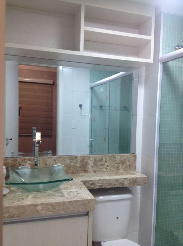 Extremamente Espelho de Banheiro Preço Justo em Santana - Espelho Banheiro  HT93