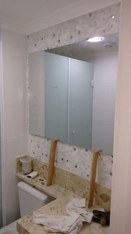 Quanto Custa Um Espelho Grande Para Banheiro : Espelho para banheiro box em vidro