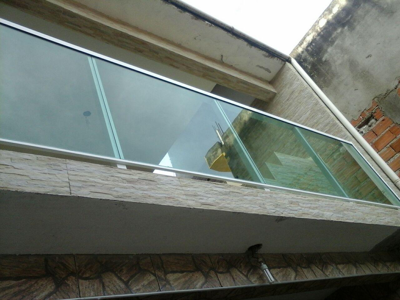 Quais Os Valores Guarda Corpo com Vidro na Vila Maria - Guarda Corpo de Vidro e Alumínio