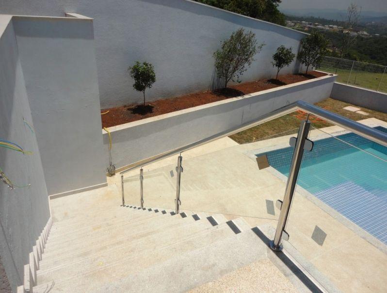Qual o Preço de Corrimões de Vidros na Vila Medeiros - Corrimão de Escada de Vidro
