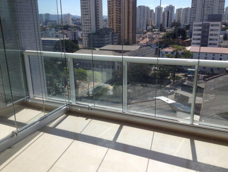 Qual Valor de Fazer Envidraçamento para Sacadas na Anália Franco - Envidraçamento de Sacadas SP Preço