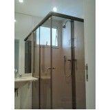 Box de banheiro de canto preço na Mooca