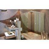 Empresa de Box light de canto para banheiro no Tremembé