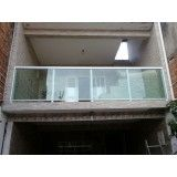 Preço acessível de Guarda corpo de vidro e alumínio na Vila Gustavo