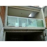 Serviço guarda corpos inox e vidro na Vila Gustavo