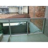 Sites de guarda corpo de inox com vidro na Vila Medeiros