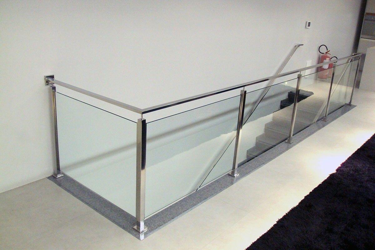 Valor para Fazer Corrimão de Vidro em Santana - Corrimão de Inox com Vidro